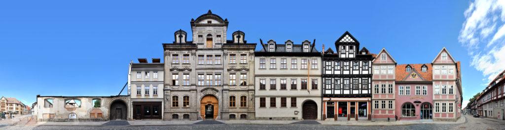 Kornmarkt in Quedlinburg, UNESCO Weltlulturerbe