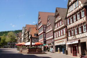 Calw Platz Tudor Style