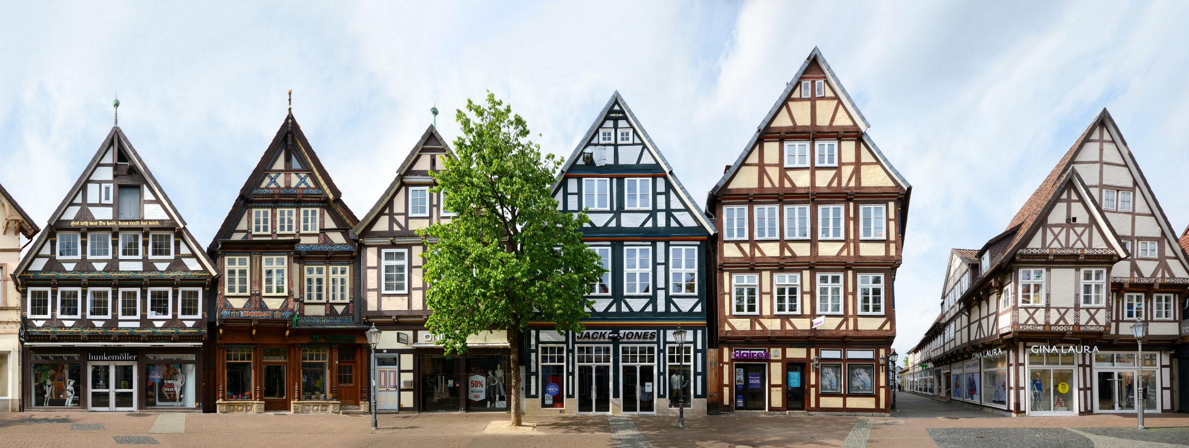 Fachwerk in Celle, Niedersachsen