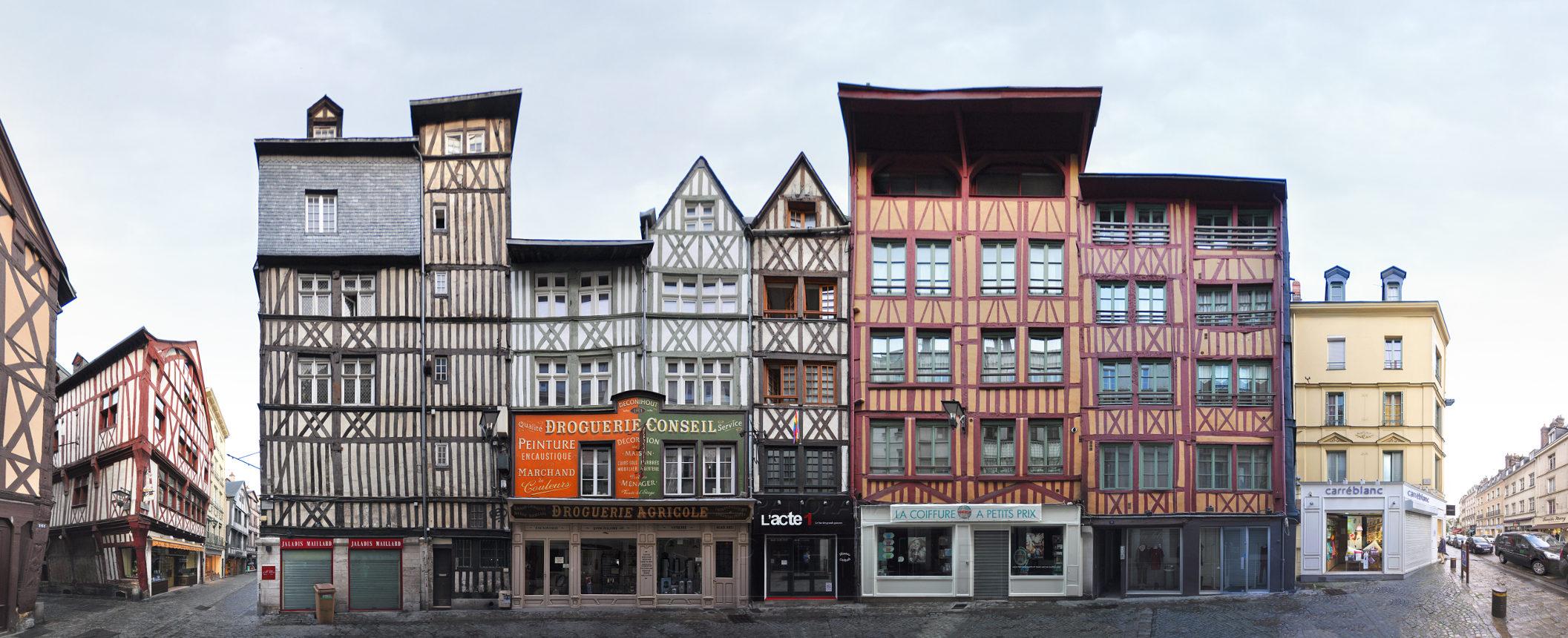 Rue Ecuyere | Maison à colombages - PANORAMASTREETLINE