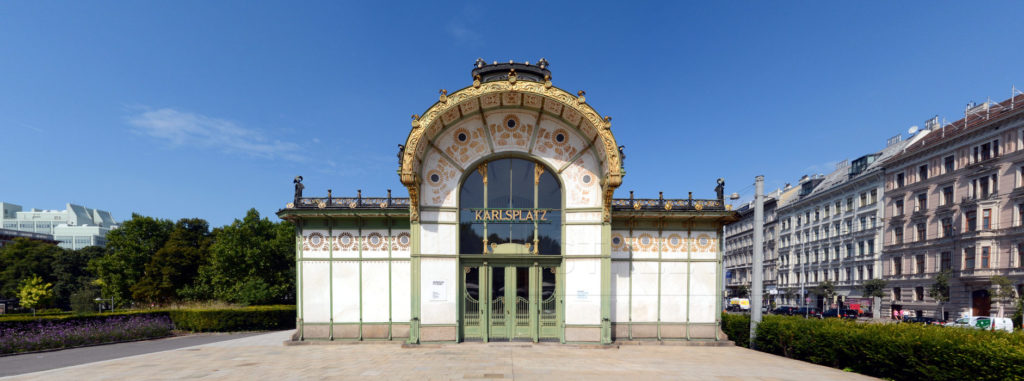 Wiener Stadtbahn Otto Wagner Jugendstil Architektur