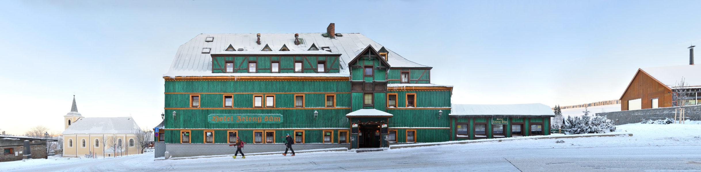 Hotel Zeleny Dum / Grünes Haus