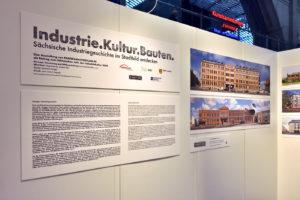 Ausstellung Titel Industrie Kultur Bauten