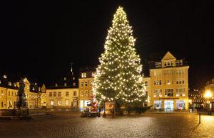 Annaberg-Buchholz Saxony Erzgebirgskreis Christmas