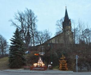 Beiersdorf Saxony Fraureuth Christmas Time