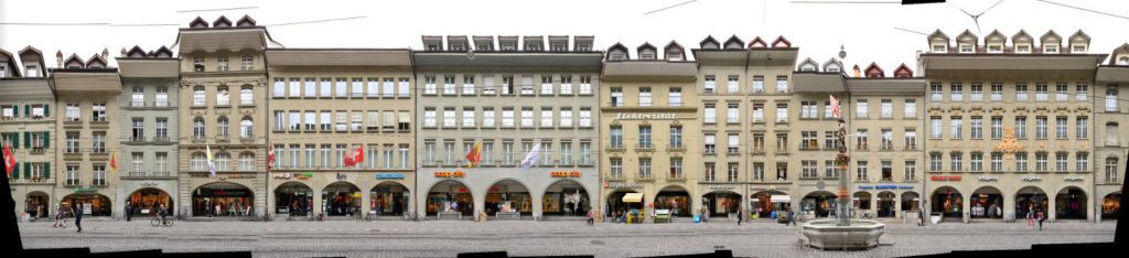 Marktgasse Bern Suisse street front panorama preview