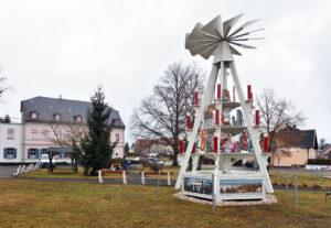 Fraureuth Saxony Christmas Market