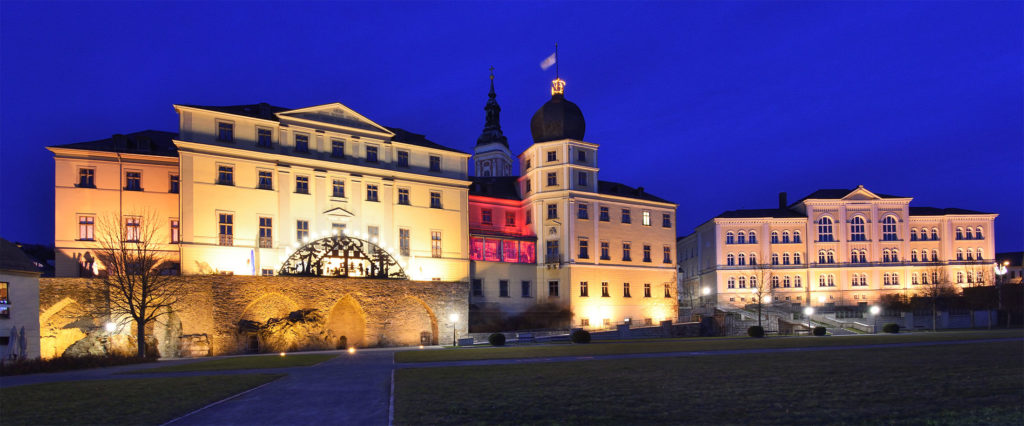 Greiz Thuringia Vogtland Christmas at Neues Schloss
