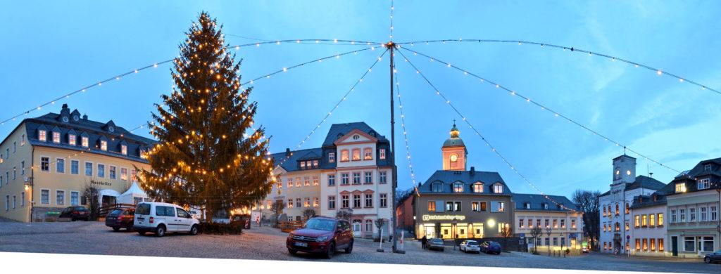Lössnitz Saxony Ore Mountains Christmas 2020 Corona