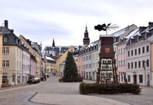 Saxony Schneeberg Christmas Corona