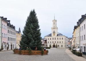 Saxony Schneeberg Christmas 2020 Germany