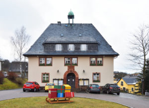 Seiffen Ore Mountains Toy and Christmas Village, Town Hall