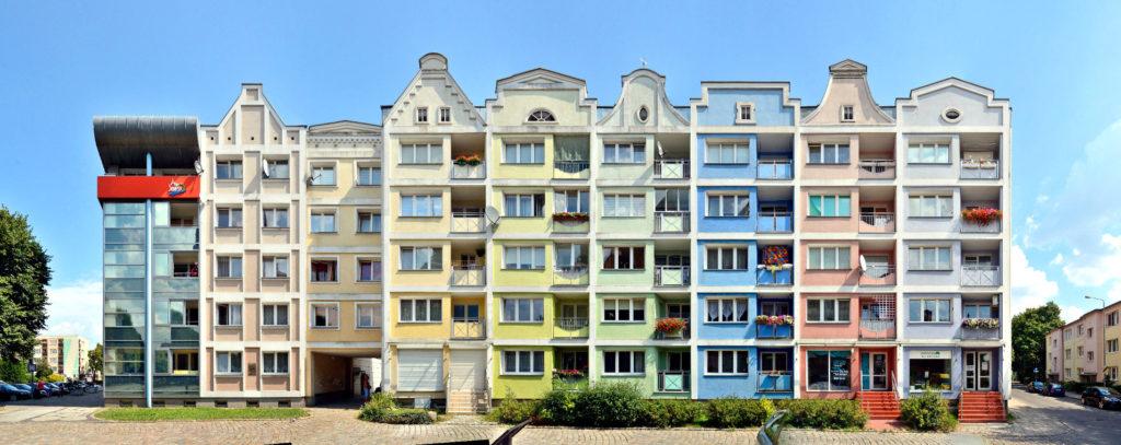 Stolp Plattenbau - Slupsk prefab buildings