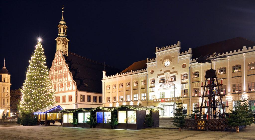 Zwickau Gewandhaus Weihnachtsmärkte Weihnachtspyramide