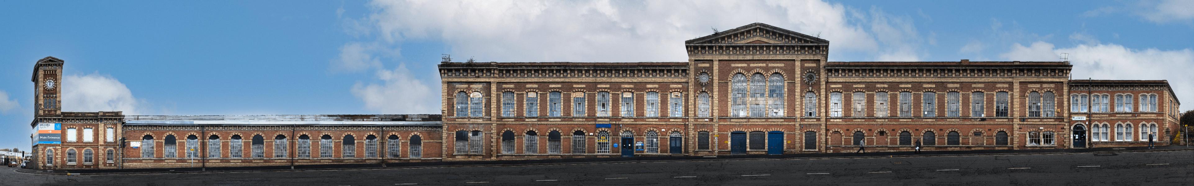 Former Worcester Engine Works   Shrub Hill Road