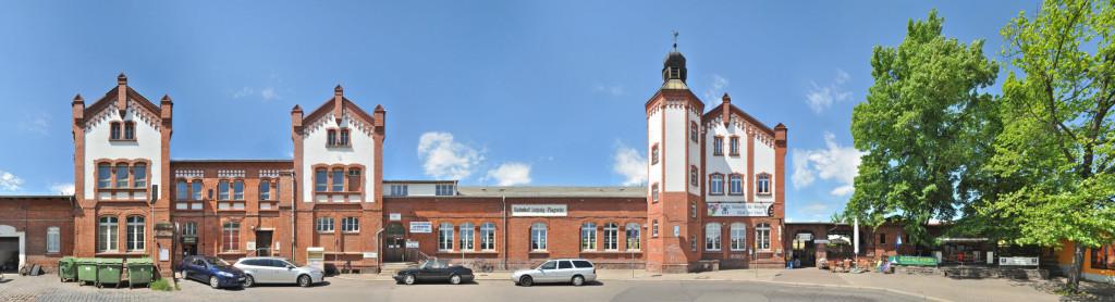 Bahnhofsgebäude Leipzig Plagwitz Industrialisierung