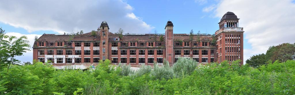 Karl Krause Fabrik in Leipzig Anger Crottendorf Ruine Lost Place