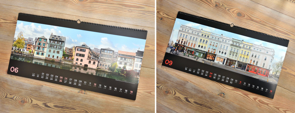 Strassburg London Streetlines Kalender Druck Architekturfotografie