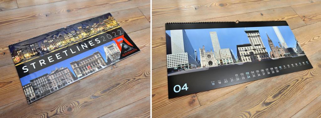 Ackermann Verlag Streetlines Kalender Panorama Fotografie