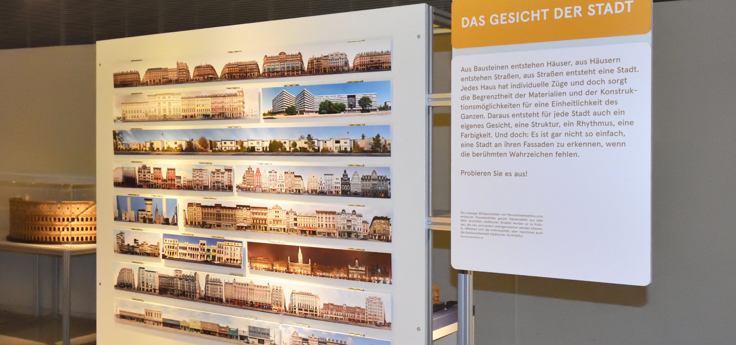 Chemnitz exhibition on the City. Guess Game